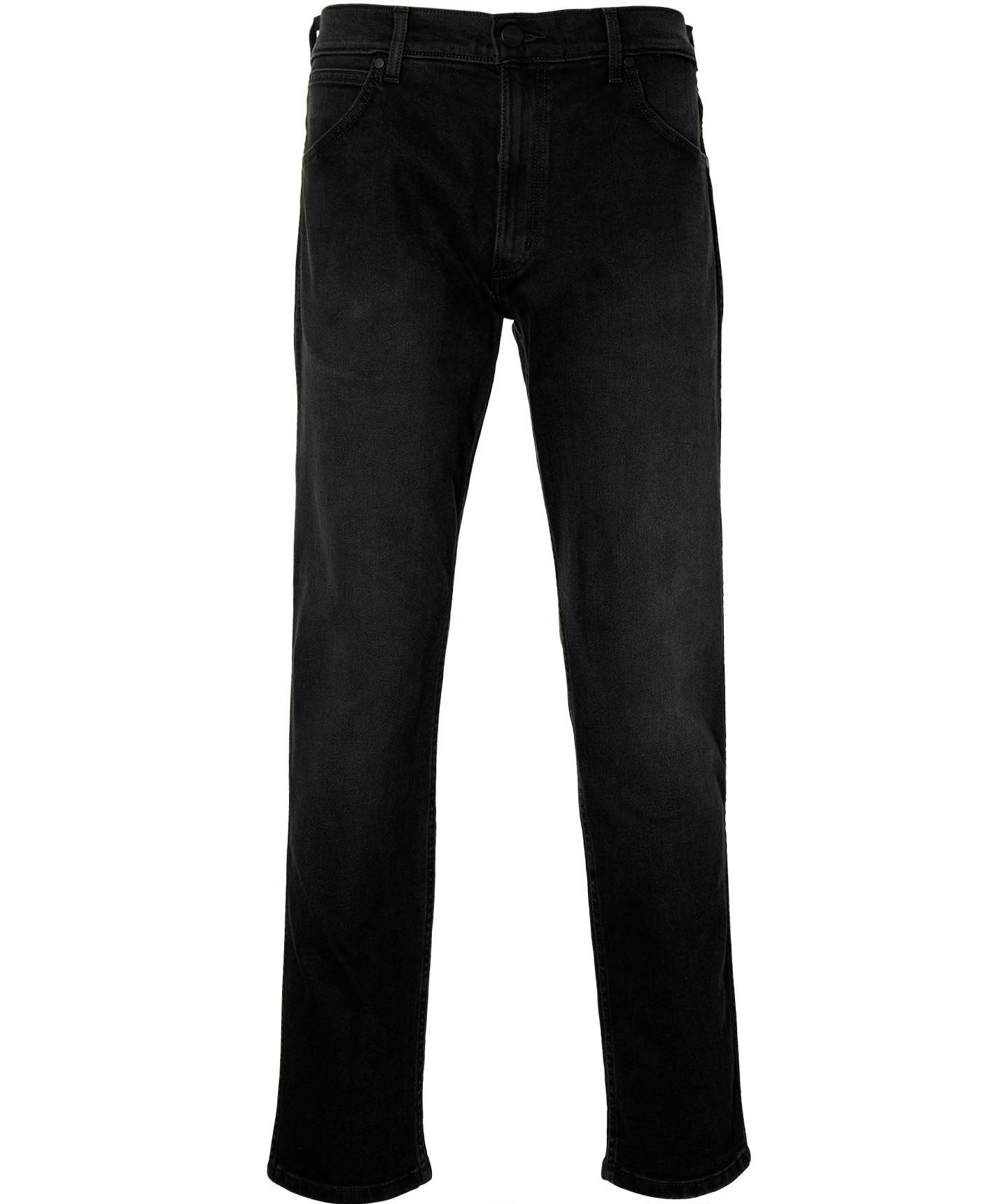 Wrangler Jeans - Modern Fit - Zwart