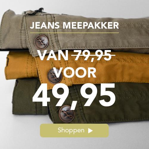 Jeans meepakkers